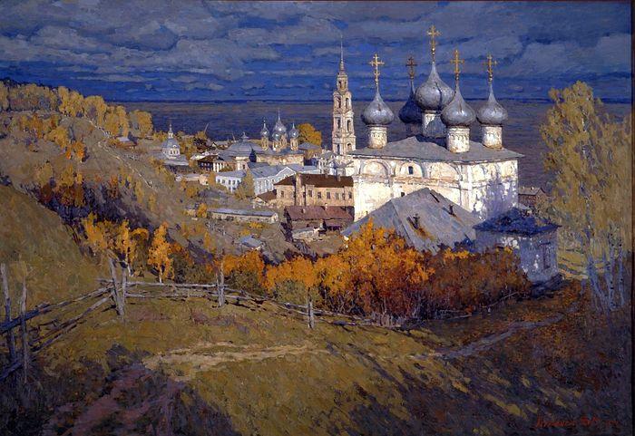Vasily Kursaksa. Yurievets on the Volga
