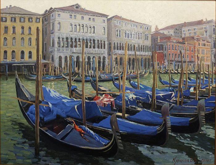 Vasily Kursaksa. Morning in Venice, 2013