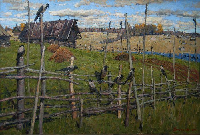 Vasily Kursaksa. Crows
