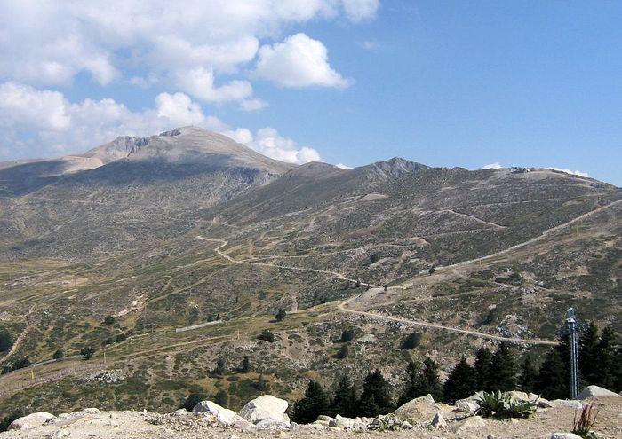 Гора Олимп в Вифинии