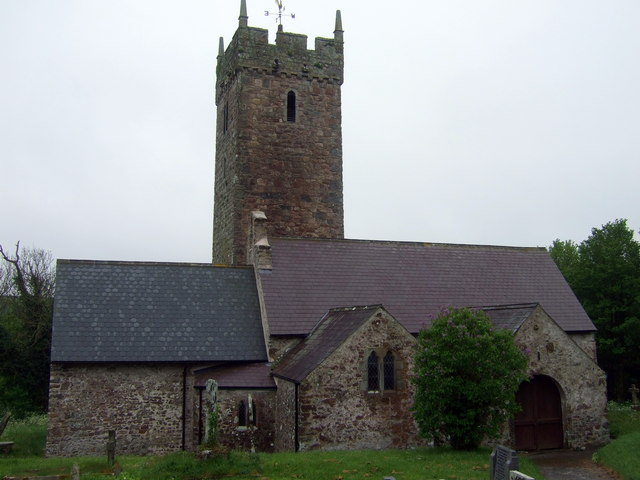 St. Decuman's Church in Rhoscrowther, Pembrokeshire