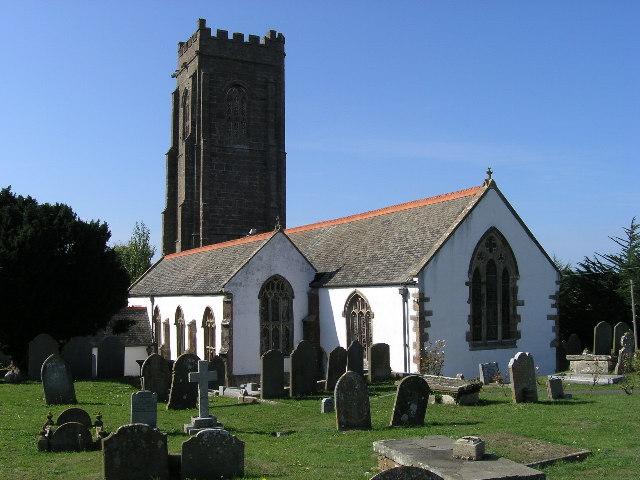 St. Decuman's Church in Watchet, Somerset