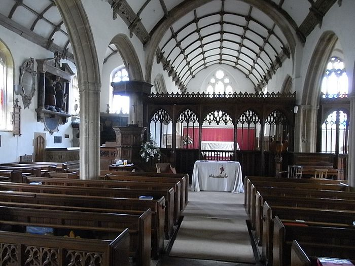 St. Decuman's Church interior, Watchet, Somerset