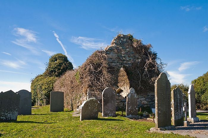 St. Decuman's Church ruins in Killag, Wexford