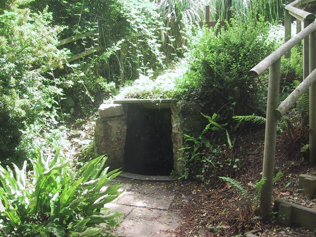 St. Decuman's well in Watchet, Somerset (photo by Sarah Charlesworth, Geograph.org.uk)