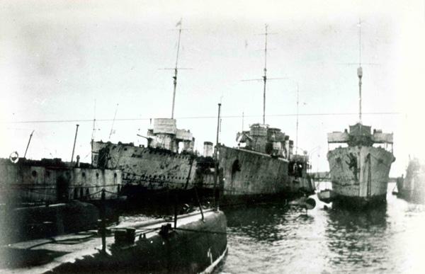 Корабли Русской эскадря в Бизерте