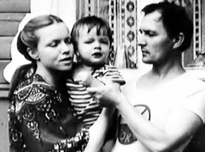 Валентина Теличкина и Владимир Гудков с сыном Иваном