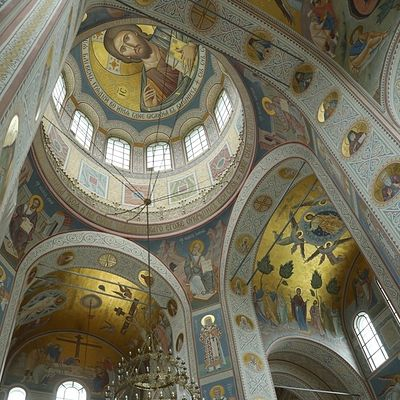 Новая роспись Никольского собора Хотькова монастыря: от эскизов до фресок