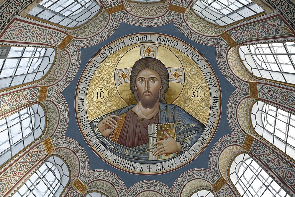 Господь Вседержитель. Роспись купола