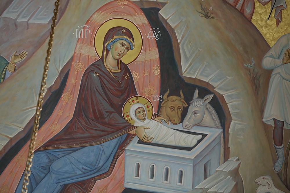 Рождество Христово. Фрагмент