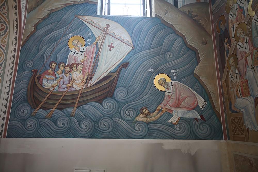 Спасение моряков святителем Николаем
