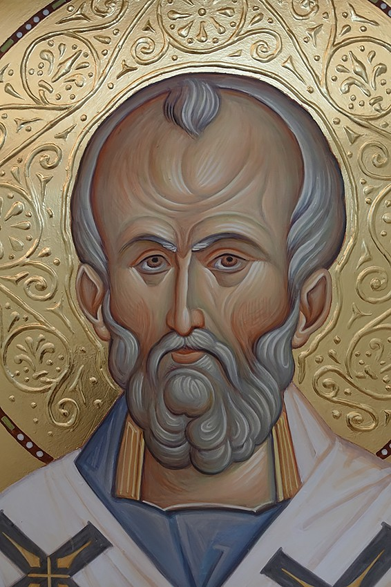 Святитель Николай Чудотворец. Фрагмент