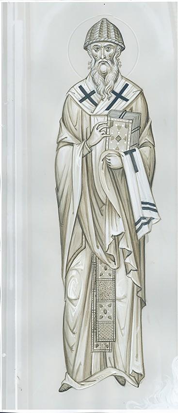 Святитель Спиридон Тримифунтский. Эскиз