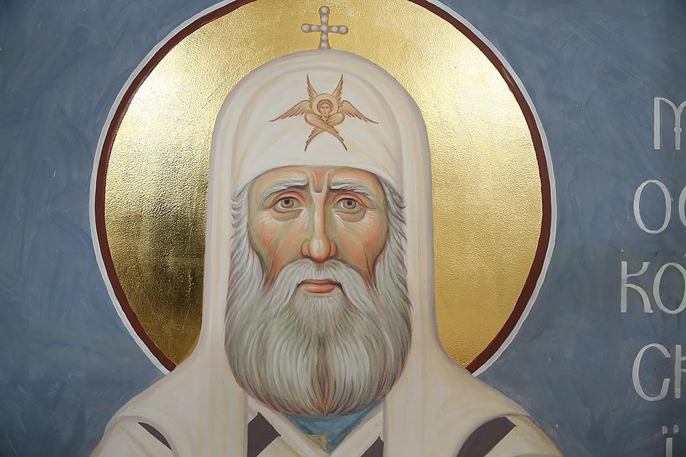 Святитель Тихон Московский. Фрагмент