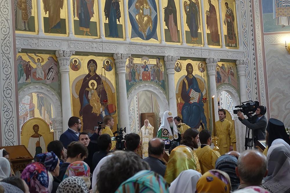 Служба Святейшего Патриарха Кирилла