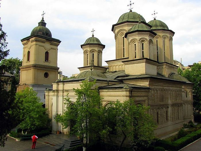 The church of Radu Voda Monastery