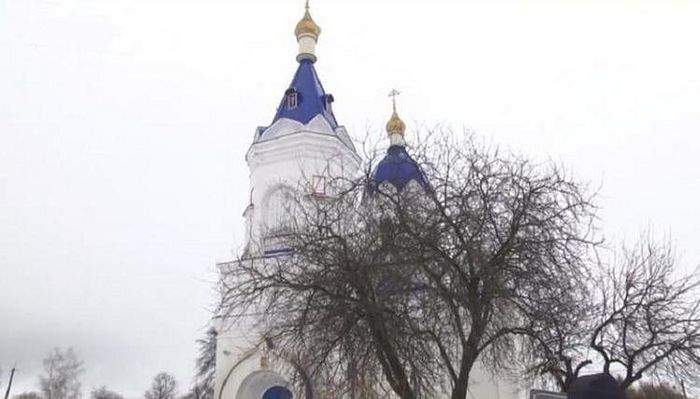 Ναός της εικόνας της Παναγίας του Καζάν, Σάντοφ. Φωτογραφία από ανοιχτές πηγές