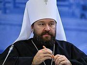 Митрополит Иларион: Русская Православная Церковь сделала все для того, чтобы максимально облегчить вхождение
