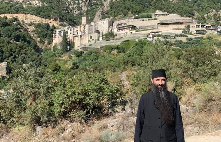 At St. Paul's Monastery. Photo: Facebook