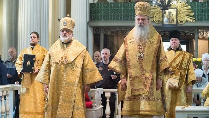 Епископ кронштатски Назарије и Епископ рашко-призренски Теодосије