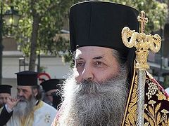 Greek hierarch: OCU doesn't exist, it cannot be given autocephaly