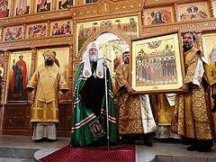 Проповедь в Неделю 13-ю по Пятидесятнице после Литургии в храме равноапостольной княгини Ольги в Останкине