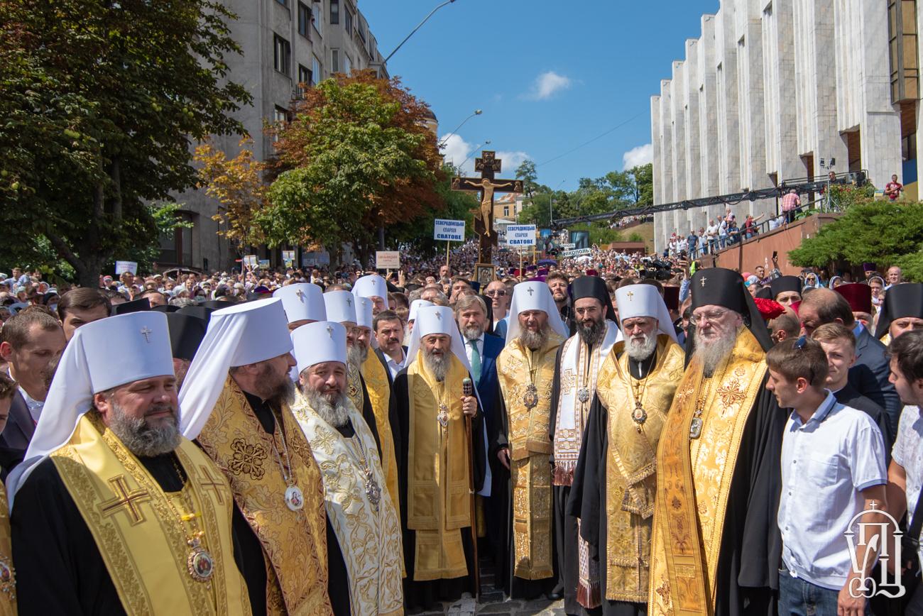 В Украинской Православной Церкви поблагодарили греческое духовенство и мирян за поддержку