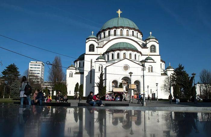 Храм Святого Саввы в Белграде. Фото: РИА Новости / Григорий Сысоев