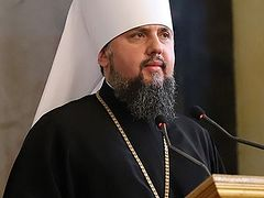 "OCU head Epiphany calls for Orthodox to work with Uniates on ""national interests"""