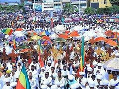 Thousands take to streets to protest repeated attacks against Ethiopian Tewahedo church (+ VIDEO)