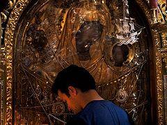 Μονή Δοχειαρείου. Eορτή προς τιμήν της Παναγίας της Γοργοϋπηκόου
