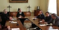 Состоялось заседание рабочей группы комиссии Межсоборного присутствия по вопросам общественной жизни, культуры, науки и информации