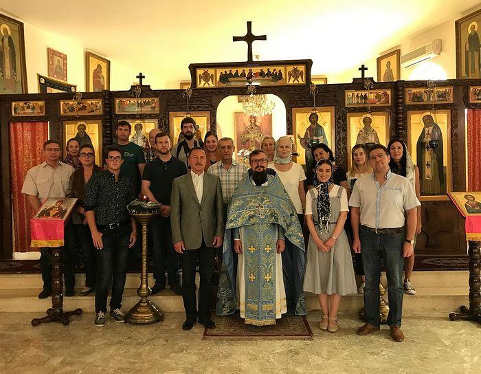 В Дамаске отпраздновали Рождество Пресвятой Богородицы