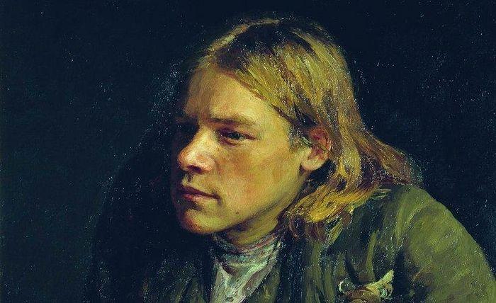 Илья Репин. Горбун (фрагмент), 1881