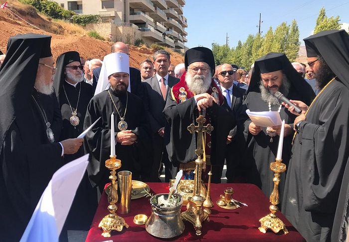 В Ливане будет построен храм в русском стиле