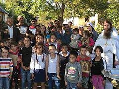 Mass Baptism of Gypsy children celebrated in Ukraine