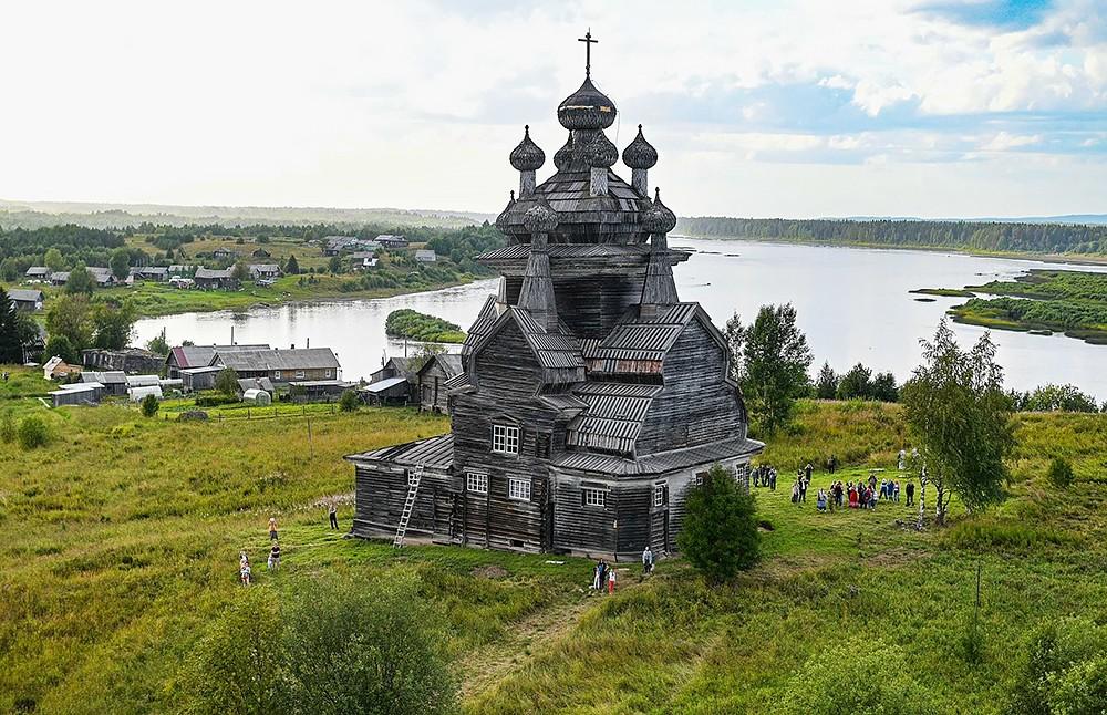 Никольская церковь Ворзогор