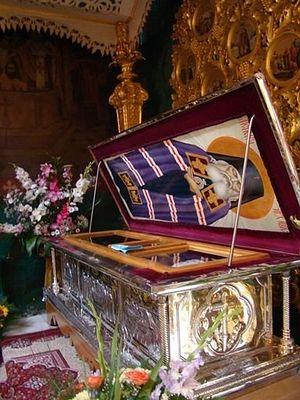 Λείψανα του Αγίου Λουκά