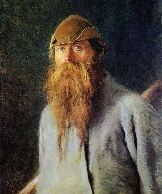 И.Н. Крамской. Полесовщик. 1874