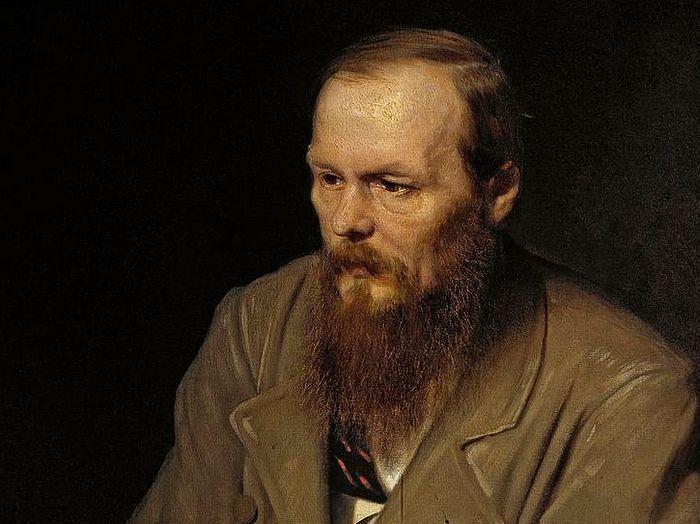 Βασίλι Περόβ. Πορτρέτο τού συγγραφέα Φ.Μ. Ντοστογιέφσκι. 1872. Μόσχα, Γκαλερί Τρετιακόφ.