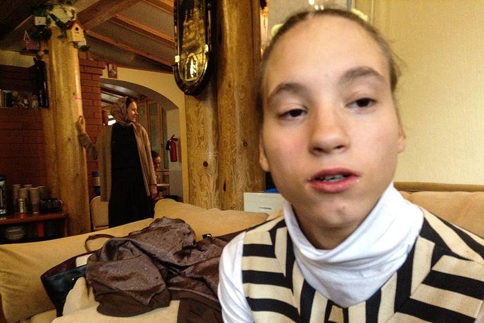 Приемная дочь о. Феодосия Аня Яковлева. Фото: Елена Яковлева / РГ