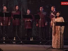 VIDEO: Hungarian choir sings Agni Parthene, with bells
