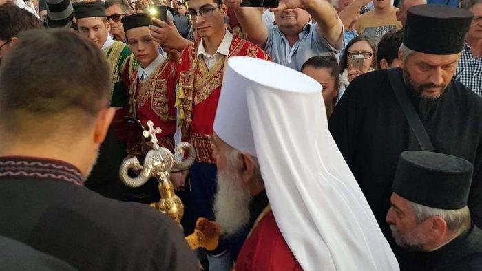 Патријарх Иринеј стигао у Црну Гору. Фото: Небојша Поповић