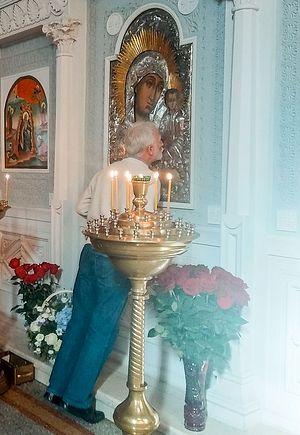 The Kazan Icon of the Mother of God in the Church of St. John. Photo: doctorantura.ru