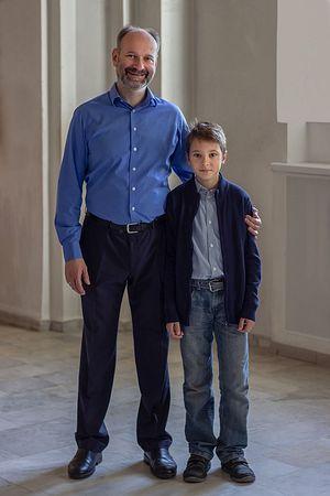 Алексей с сыном