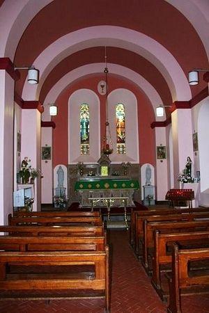 Внутри часовни свт. Финбарра на острове озера Гуган-Барра, Корк (источник: Wikimedia.org)
