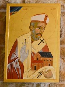 Святитель Финбарр Коркский (взято с Stfinbars.org.au)