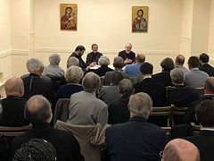 Constantinople holds meeting with clergy, laity of Archdiocese of Western Europe who didn't join Moscow Patriarchate