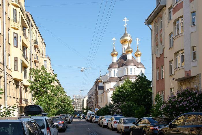 Храм во имя святой блаженной Ксении Петербургской