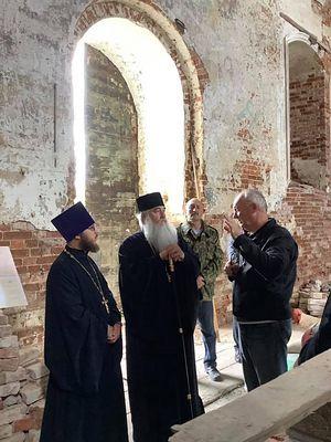 Митрополит Саратовский и Вольский Лонгин посетил Лох